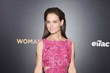 Katie Holmes Is Pretty in Pink