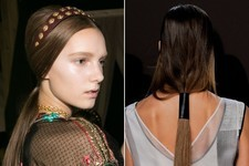 Hair Trend Report: Leather Hair Accessories