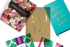 The Most Stylish Planners for 2015