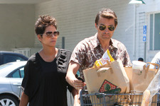 Halle Berry and Olivier Martinez Get Domestic in West Hollywood