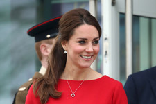 Princess Kate Is Ravishing in Red
