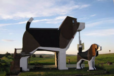 This Beagle Shaped Building Is Actually An Airbnb